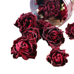 Dried Red Rose Tea Yunnan Plateau Edible Roses Edible Flower Tea