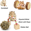 MQUPIN Pet Hammock Hamster Hanging Toy Set for Small Animal